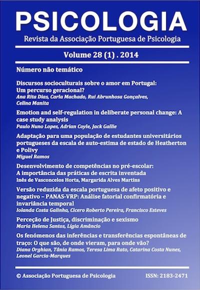Ver Vol. 28 N.º 1 (2014)