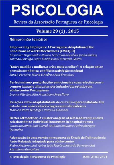 Ver Vol. 29 N.º 1 (2015)