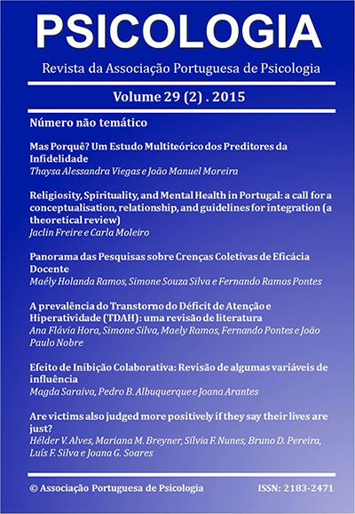 Ver Vol. 29 N.º 2 (2015)
