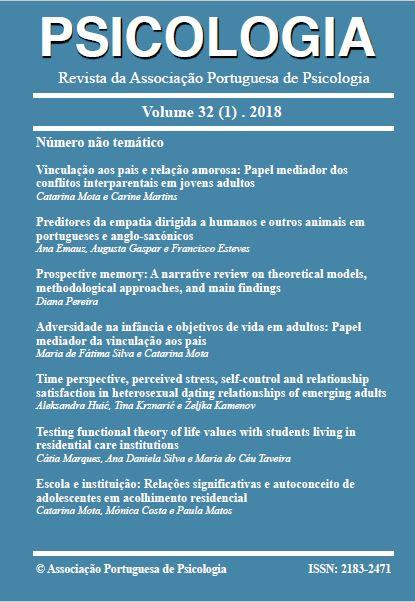 Ver Vol. 32 N.º 1 (2018)