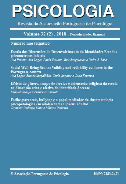 Ver Vol. 32 N.º 2 (2018)